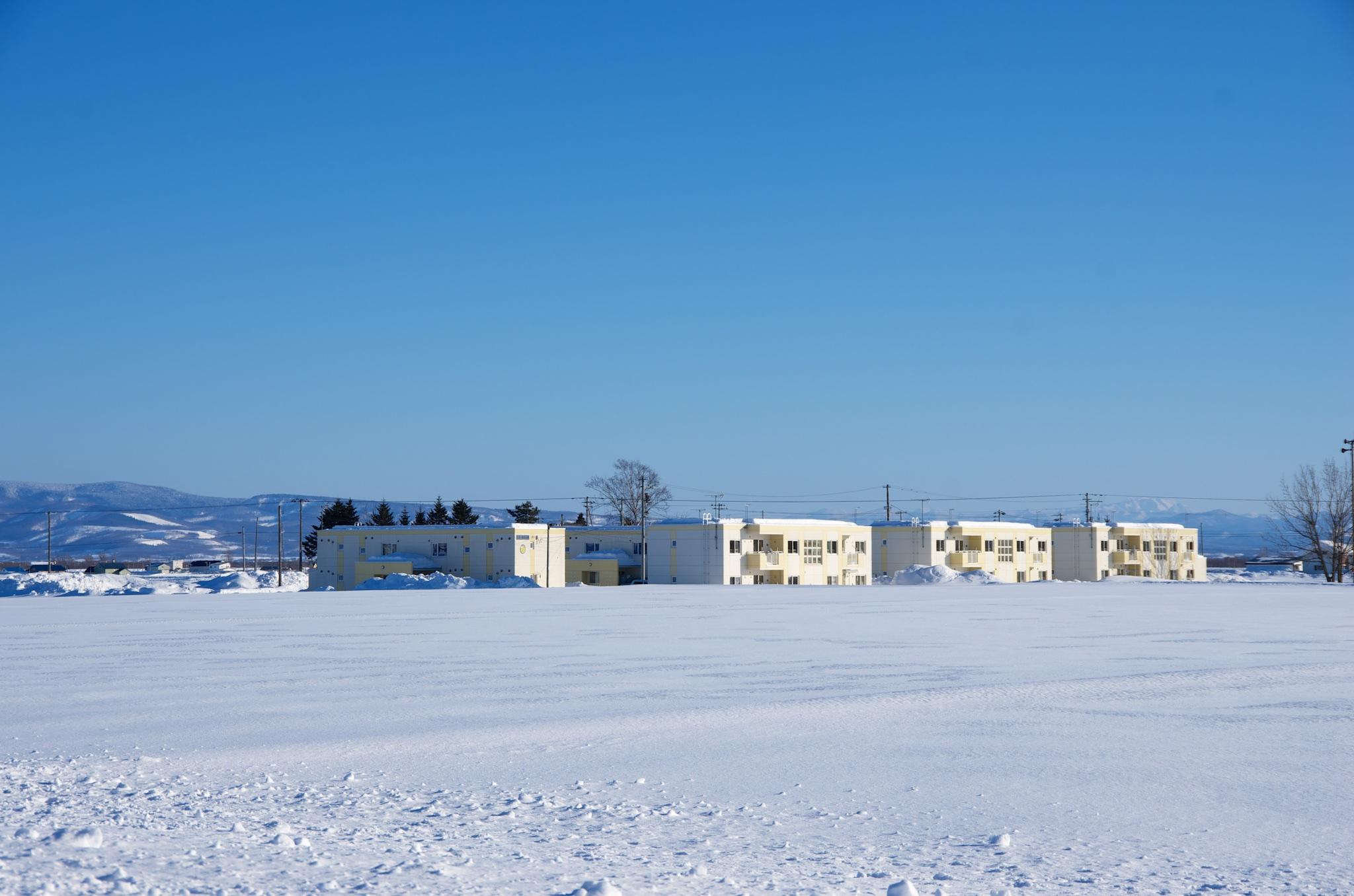 Photo: 北竜町の景色・2015年2月