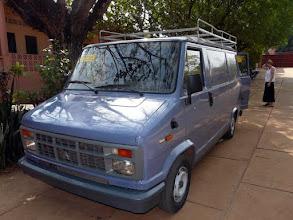 Photo: à Isigny nous envisagions le mettre à la casse, il était rongé par la corrosion. Remis à neuf à peu de frais, Marcel a eu raison de nous convaincre de lui envoyer à Cotonou