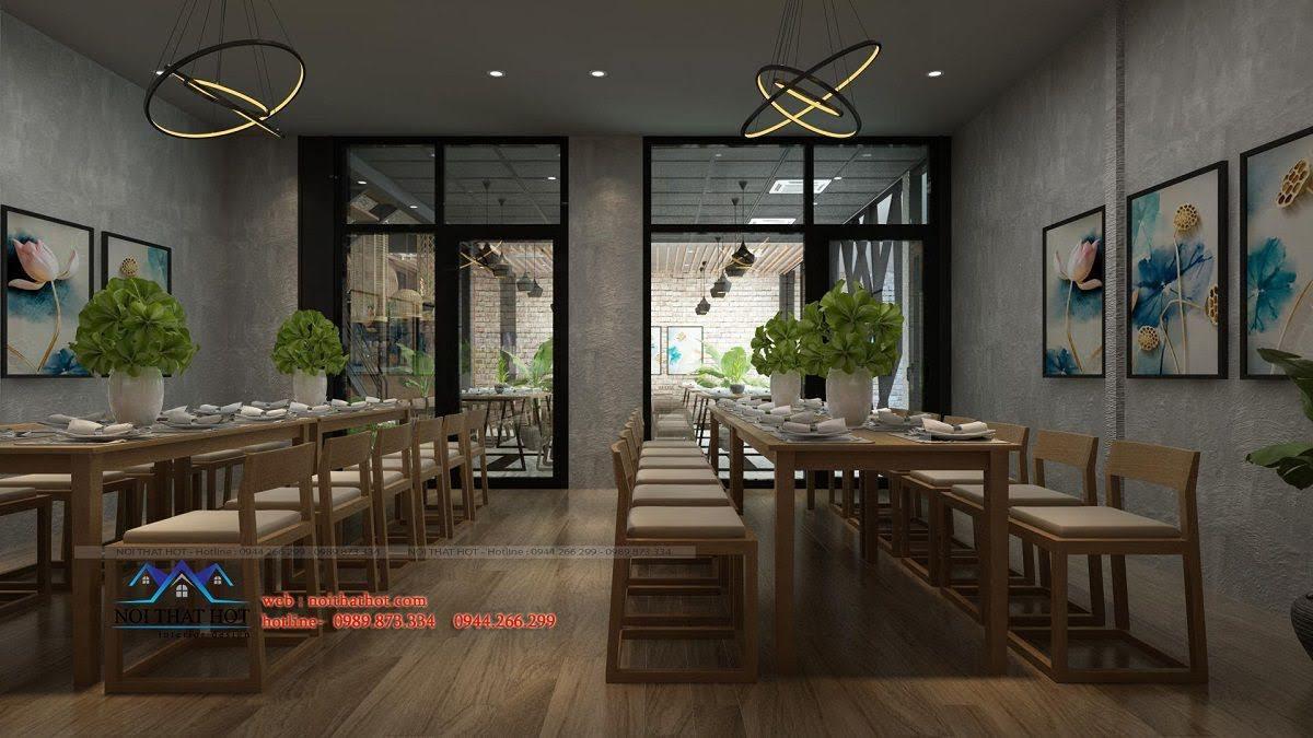 thiết kế nhà hàng thông minh