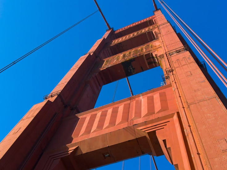 Vertical shot of the tower, captured by a Light L16.
