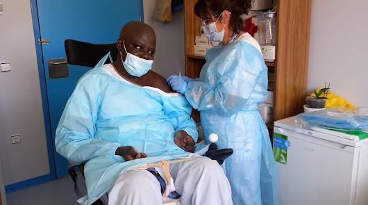 Soayibou Ka, una historia de superación y fe en la medicina que deja huella