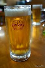 Photo: Local beer Orion - gooooood!