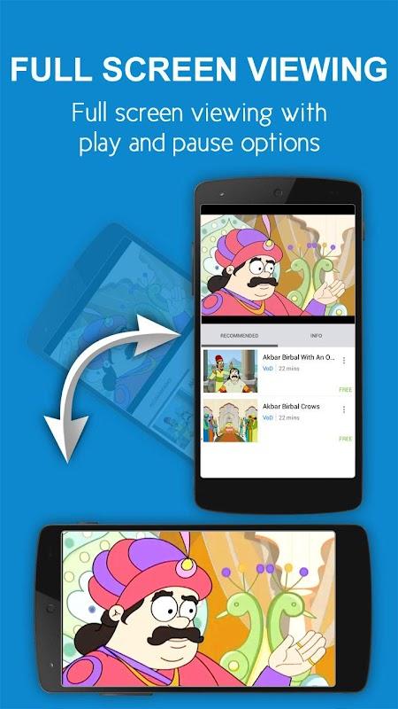 nexGTv Kids – Rhymes Cartoons screenshots