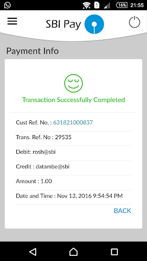 SBI Pay for PC