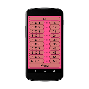 Speaking Multiplication Table - náhled