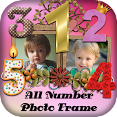 Number Photo Frame 2017 : Digit Photos Editor