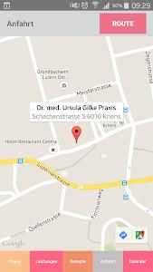 Dr. Ursula Gilke Praxis-App screenshot 3