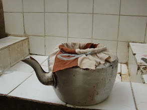 Photo: small scale Sieving system