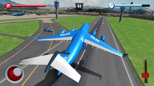 US Police Robot Car Game u2013 Police Plane Transport 1.02 screenshots 8