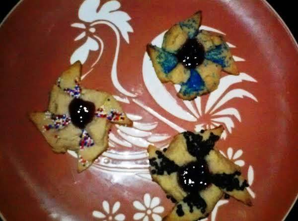Brandied Raspberry Shortbread With Red Currant Jam Recipe