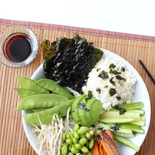 Deconstructed Vegan Sushi Bowl {Grain Free!}.