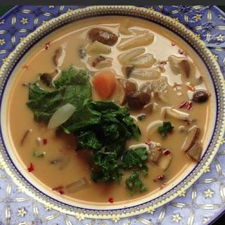 Mushroom-Coconut Soup