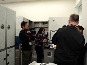 Photo: We had crew from TV Tokyo show too