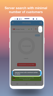 VPN Germany - Free and fast VPN connection Screenshot