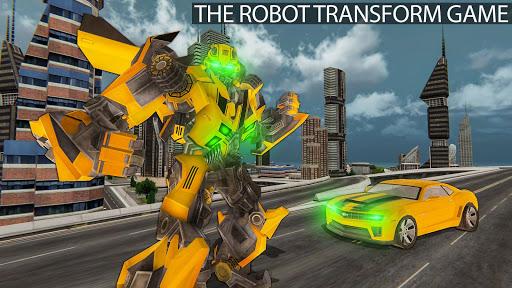 Grand Shooting Robot Transform Car 2019 1.0 screenshots 1