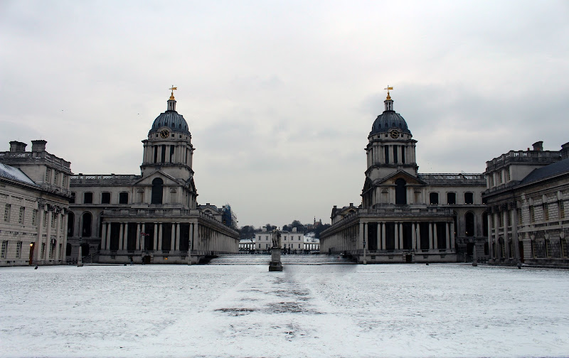 Greenwich University under the snow di auroraorazi