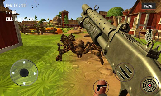 Game Spider Hunter Amazing City 3D APK for Windows Phone