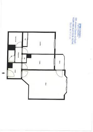 Appartement a vendre puteaux - 2 pièce(s) - 56 m2 - Surfyn