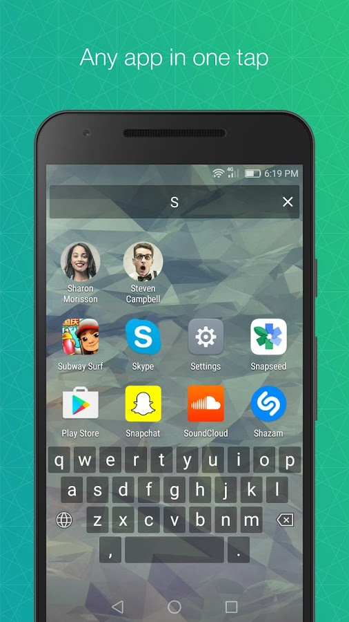 FastKey Launcher- screenshot
