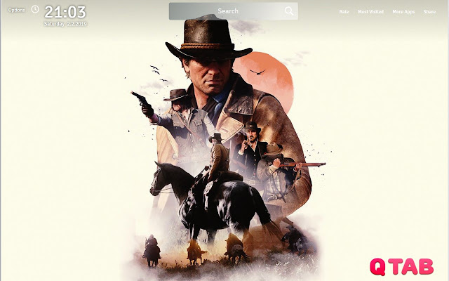 Red Dead Redemption 2 Wallpapers Hd New Tab