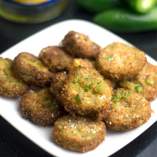 Spicy Jalapeno Deep Fried Pickles.