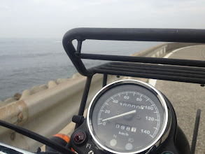 Photo: 30,000 km on my Kawasaki 250TR