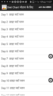 Motapa ke liye diet chart plan apps on google play screenshot image ccuart Choice Image