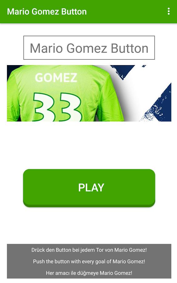 Mario Gomez Button