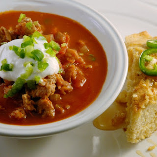 Skinny Cowboy Turkey Chili