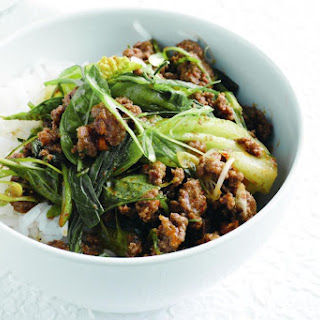 Red Curry Beef And Bok Choy Stir-fry