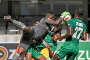AmaZulu goalkeepeer Siyabonga Mbatha believes the team will fight with all they have to stay in top flight.  /Darren Stewart/Gallo Images