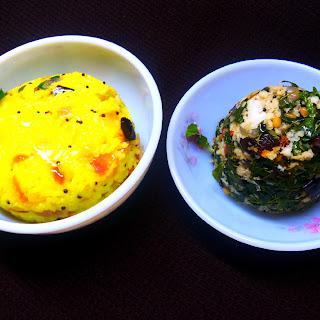 Lemon Flavored Rice and Drumstick Leaf Stir Fry