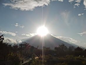 Photo: ダイヤモンド富士でした!