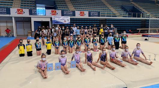 Almería muestra la calidad de la gimnasia artística femenina