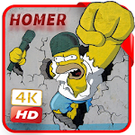 Homer Wallpaper HD 4k Icon