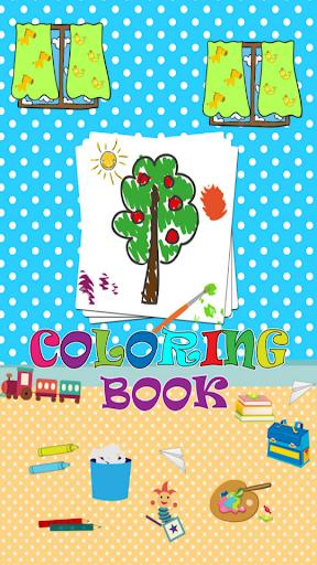 Draw color fun:Coloring book