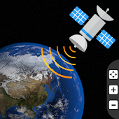 Global Live Earth Map: GPS Tracking Satellite View