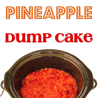 Crockpot Pineapple Dump Cake
