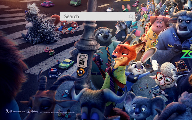 Zootopia HD themes