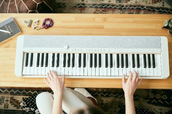 一張含有 音樂, 室內, 鋼琴, 鍵盤 的圖片 自動產生的描述