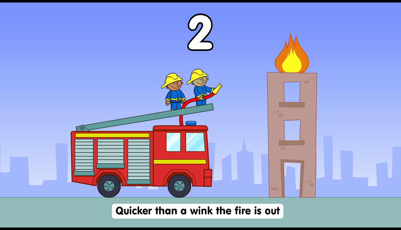 Five Little Firefighters- screenshot