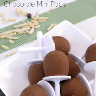 Low Carb Almond Chocolate Mini Pops Recipe