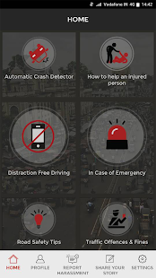 Vodafone-SaveLIFE Road Safe- screenshot thumbnail