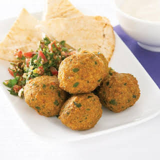 Falafel with Tabouli.