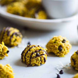 Healthy No Bake Cookies with Coconut Oil.