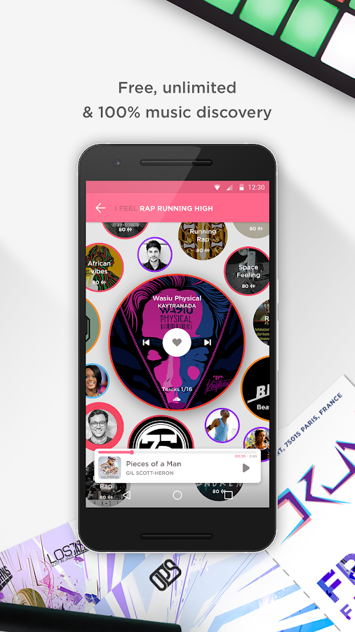 SoundR Music- screenshot