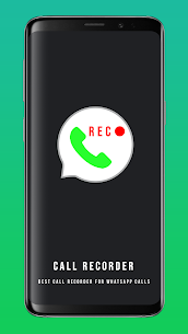 Download Call Recorder for Whatsapp App For Android 1
