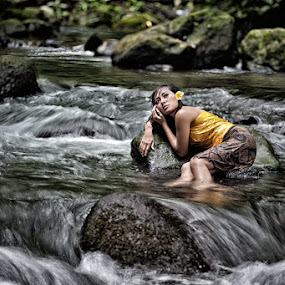 River Beauty by Mario Wibowo - People Fashion ( bali, 2012, lfcn )