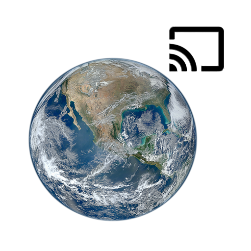 ISS on Live: HD View Earth Live | Chromecast Icon