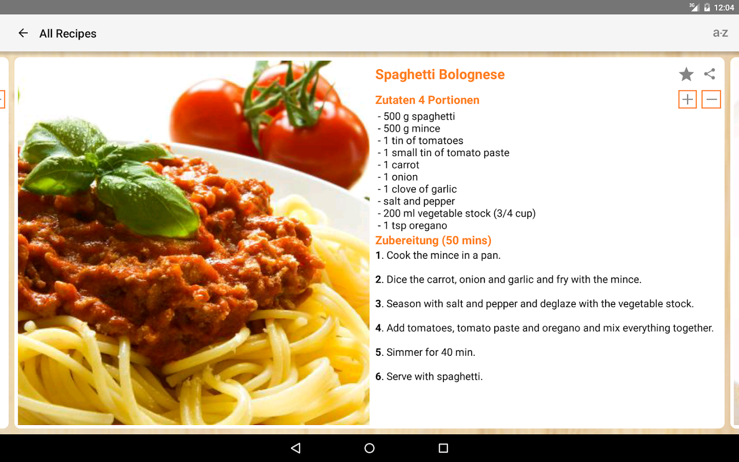 Pasta Recipes - Android Apps on Google Play